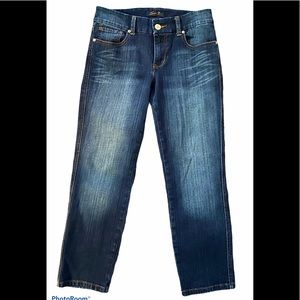 Seven7 Crop Jeans Wide Waistband